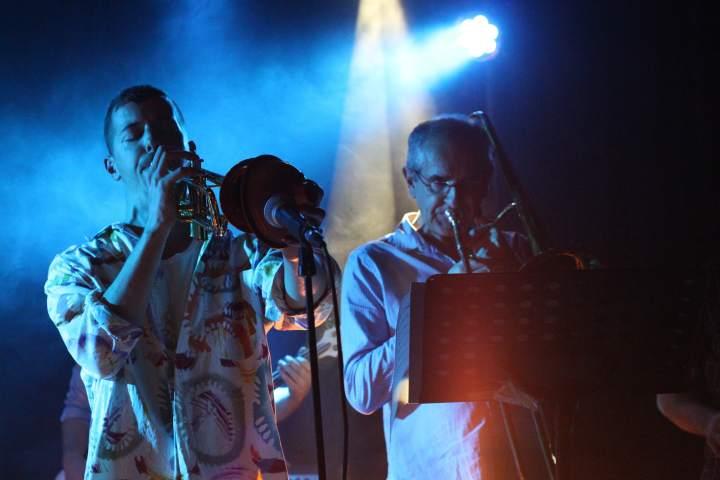 Maxime le trompettiste et Michel le tromboniste invité de la Nekyia