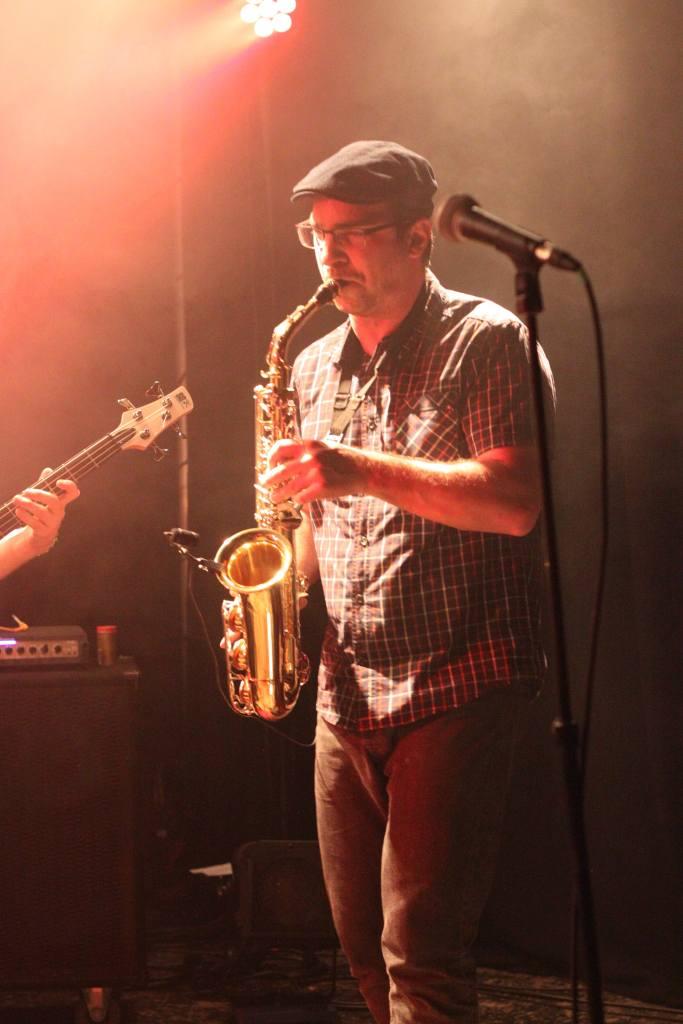 guillaume au saxophone avec La Nekyia