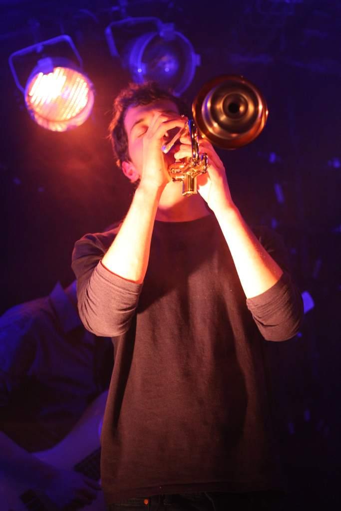 Maxime à la trompette pour La Nekyia