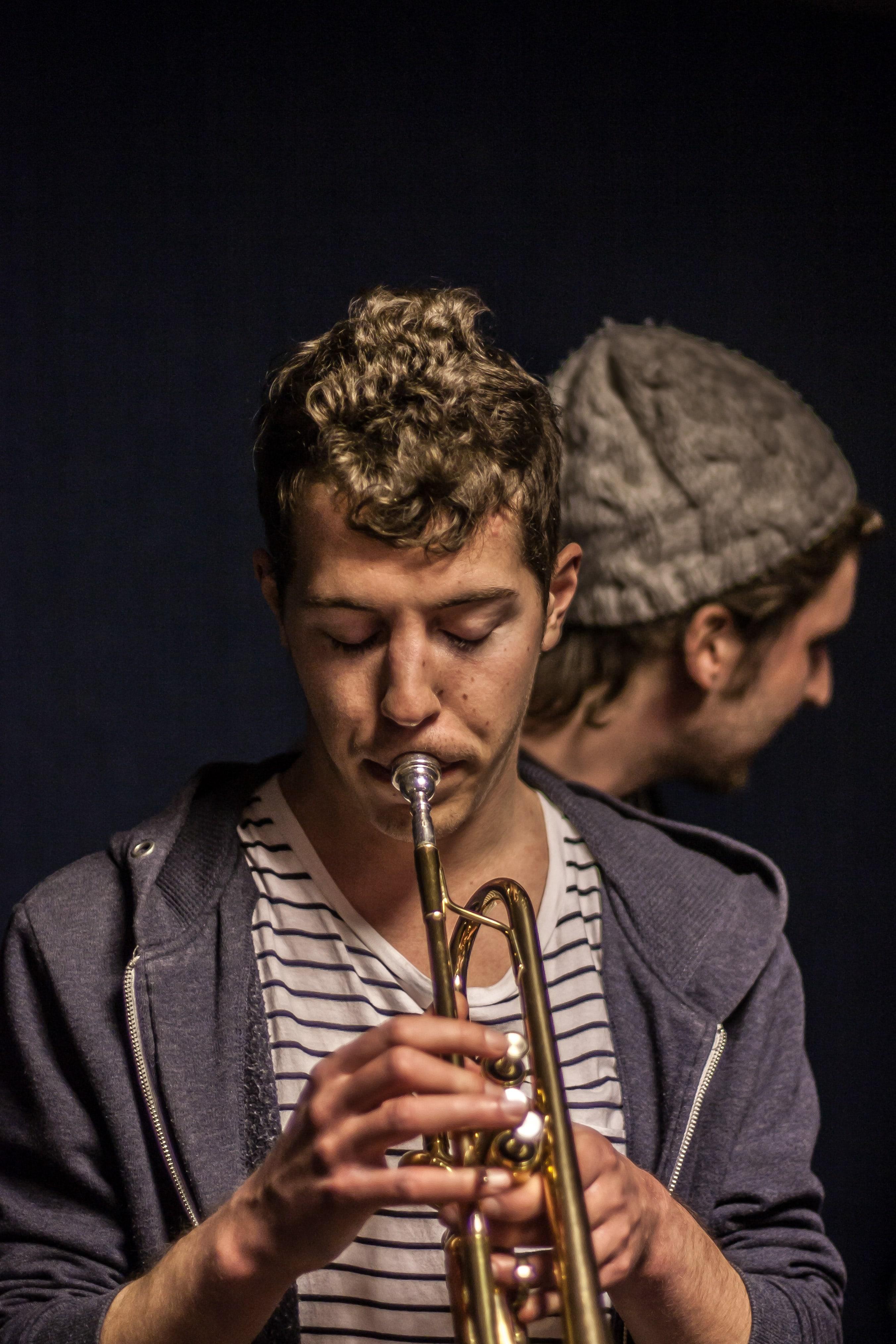 portrait du trompettiste de la nekyia