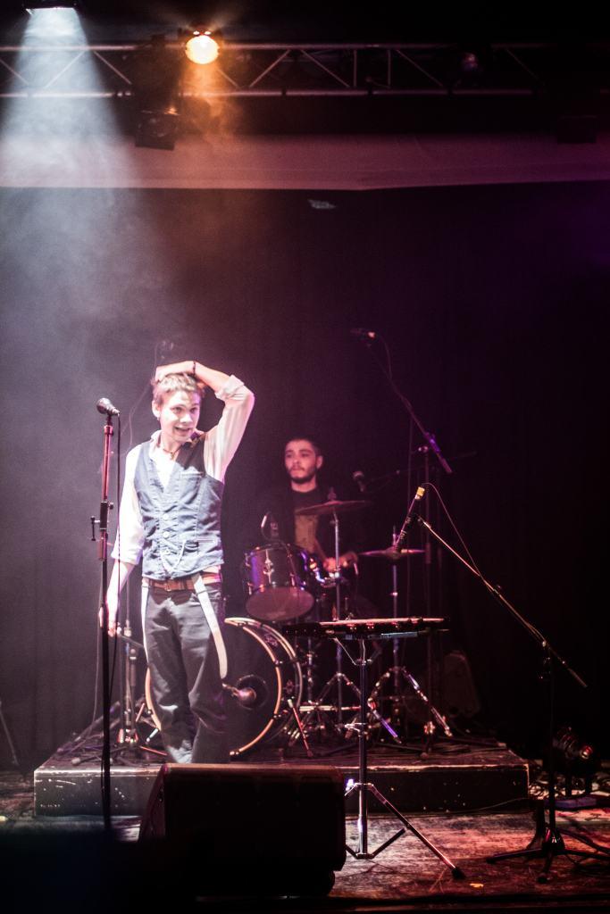 Robin et Gauthier sur scène
