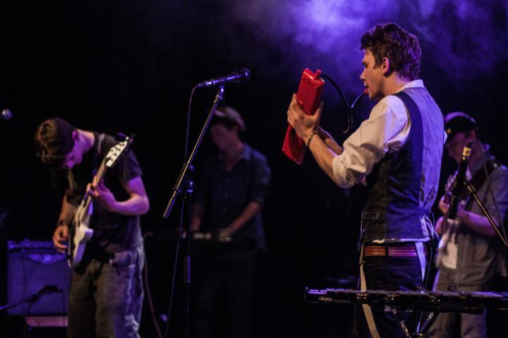 robin et martin sur scène